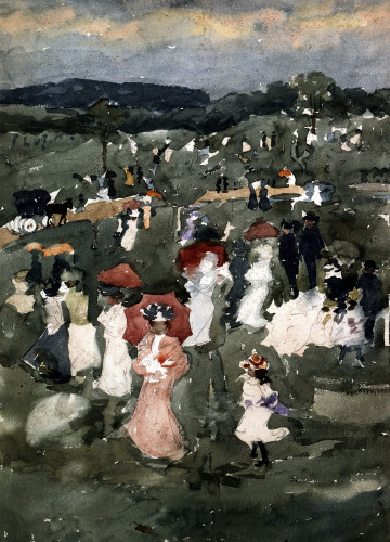 Strolling In The Park by Maurice Prendergast