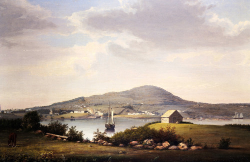 Blue Hill, Maine by Fitz Hugh Lane