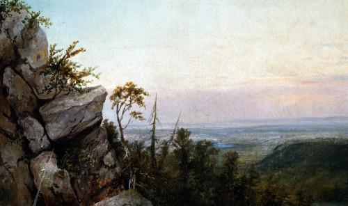 Rocks And Landscape by Josef Borsos