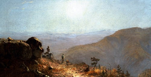 South Mountains, Catskills by Sanford Robinson Gifford
