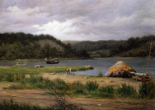 Clamming, Long Island by William M. Davis
