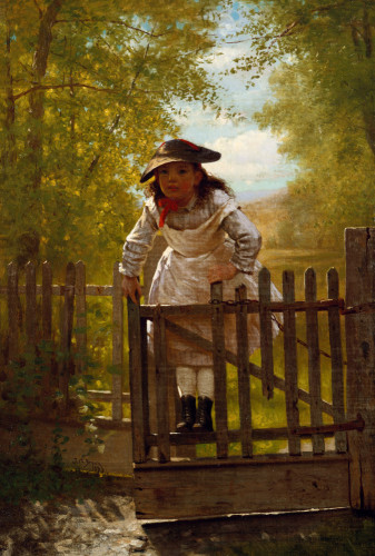 The Tomboy by John George Brown