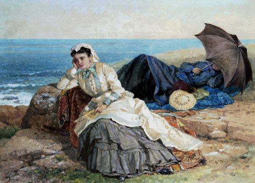Seaside Reflections by Albert Fitch Bellows