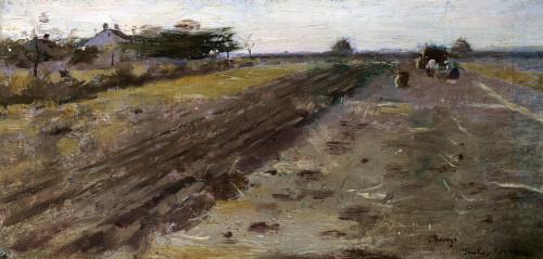 Landscape by Theodore Robinson
