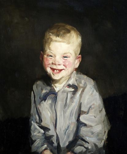 The Laughing Boy (Jobie) by Robert Henri