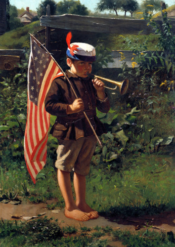The Young Patriot by John George Brown