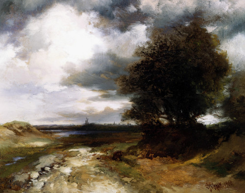East Moriches by Thomas Moran