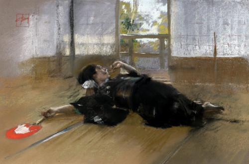 Repose by Robert Frederick Blum