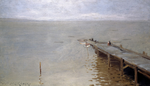 On The Sound by William Merritt Chase