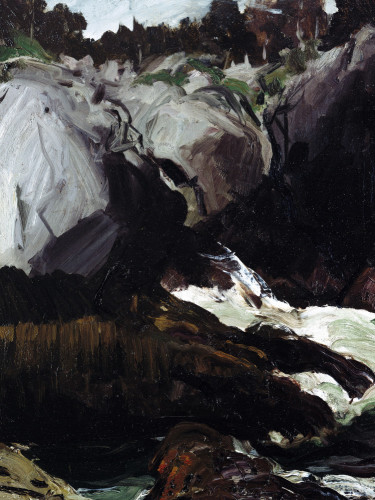 Gorge And Sea by George Wesley Bellows