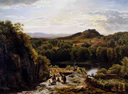 Scene In The Hartz Mountains by Thomas Worthington Whittredge