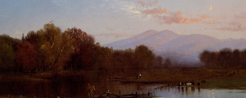 White Mountains by Alfred Thompson Bricher