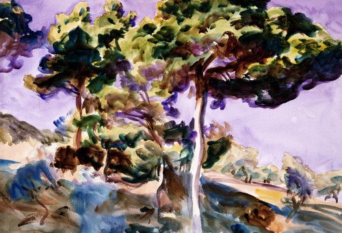 Trees by John Singer Sargent