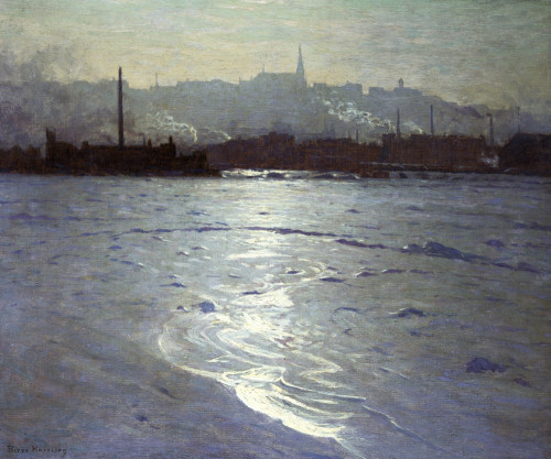 Winter On The St Lawrence by Lowell Birge Harrison
