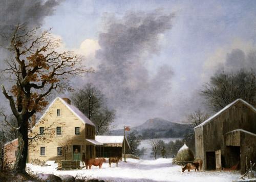 Jones Inn by George Henry Durrie