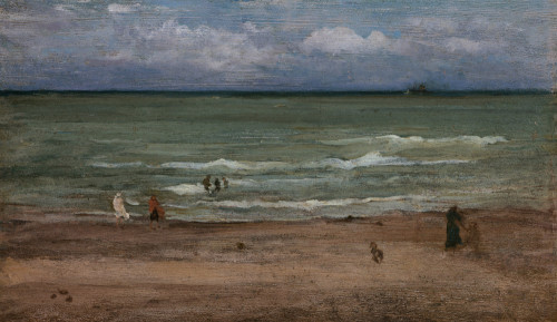 The Sea, Pourville by James McNeil Whistler