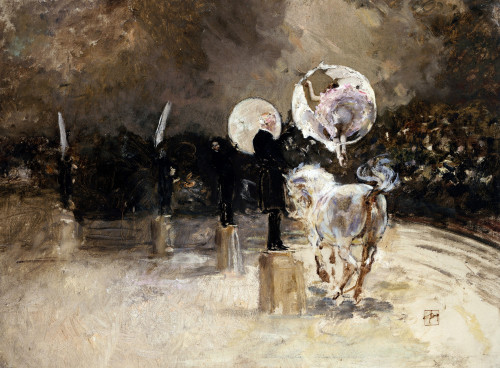 Circus Ring At Night by Robert Frederick Blum