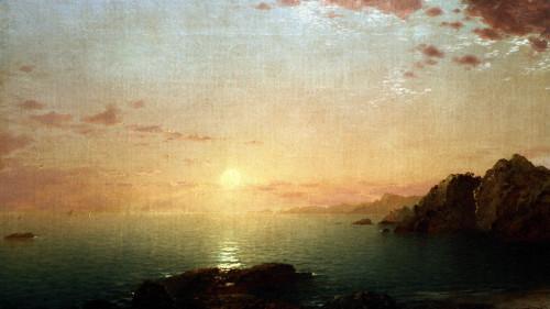 Coastal Sunset by John Frederick Kensett