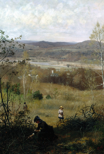 Deerfield Valley by James Wells Champney