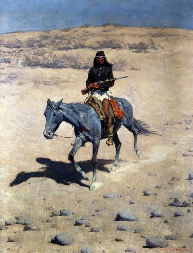 Apache Scout by Frederic Remington