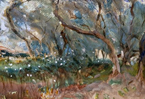 Landscape, Corfu by John Singer Sargent