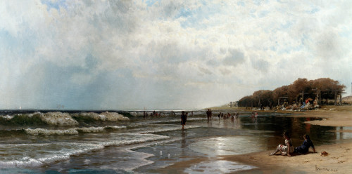 Long Branch, New Jersey by Alfred Thompson Bricher