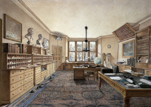 Isambard Kingdom Brunels Office At 18 Duke Street, Westminister by Anonymous