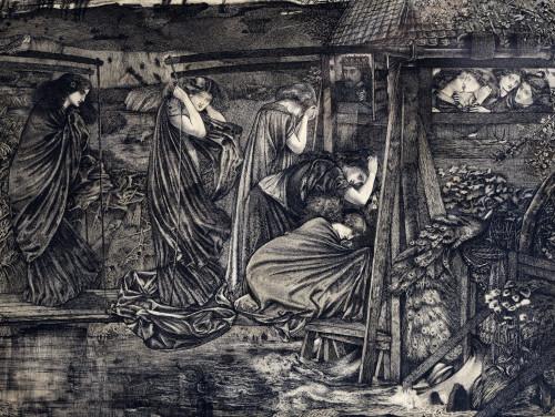 The Wise And Foolish Virgins by Sir Edward Burne-Jones