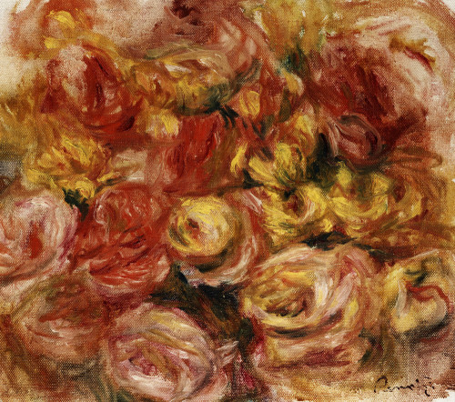 Impressionist & Modern ArtFlower Sketch by Pierre Auguste Renoir
