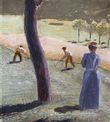 Workers In A Field At Kandern by Swedish OneSheet Poster