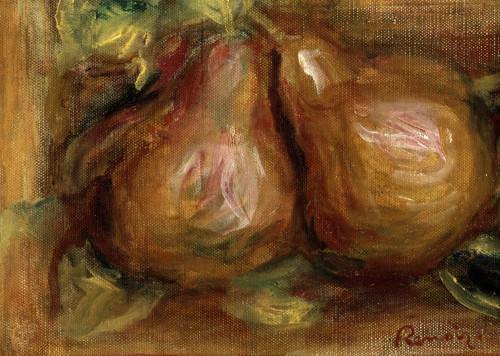 Pears by Pierre Auguste Renoir