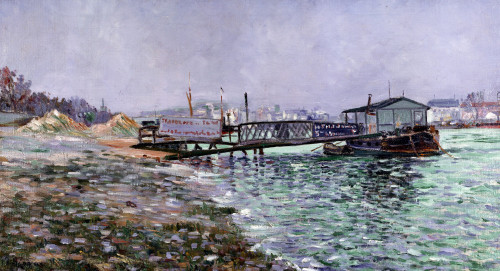 La Seine by Paul Signac
