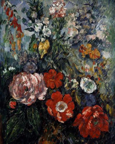 Flowers, Fleurs by Paul Cezanne