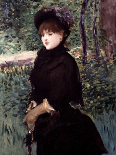 The Walk by Edouard Manet