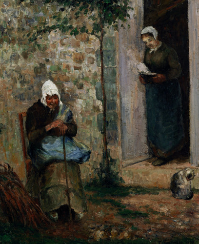 Charity by Camille Pissarro