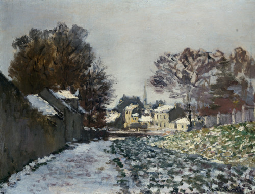 Snow At Argenteuil by Claude Monet