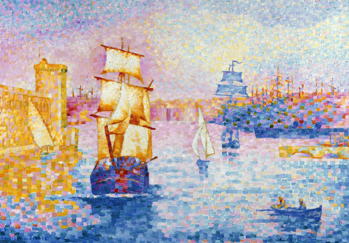 Port de Marseille by Henri-Edmond Cross