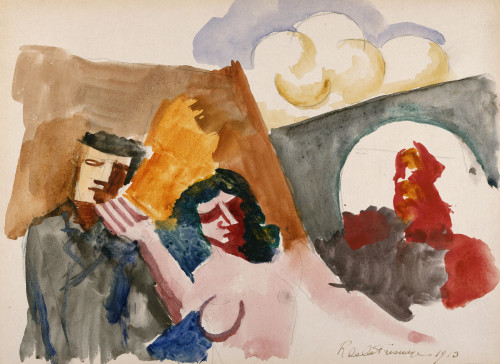 Study For 'The Conjugal Life' by Roger de la Fresnaye