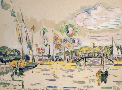 Geneva by Paul Signac