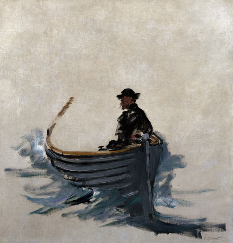 Study For The Escape From Rochefort by Edouard Manet