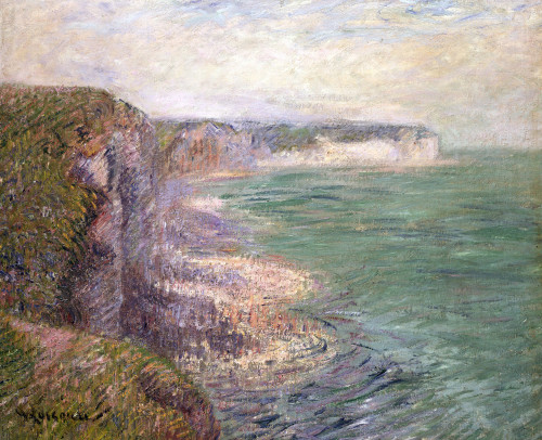 Cliffs At Fecamp by Gustave Loiseau