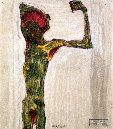 Anarchist by Egon Schiele
