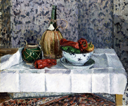 Still Life, Spanish Pepper by Camille Pissarro