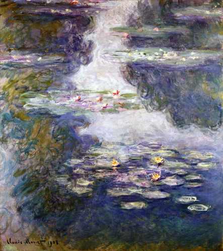Waterlilies, Nympheas, Paysage D'Eau by Claude Monet