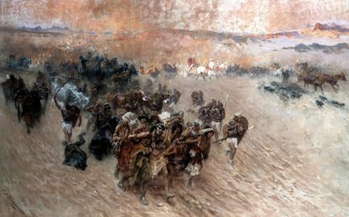 The Pharoah's Captives by Frederick Arthur Bridgman
