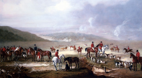 The Meet by John Ferneley
