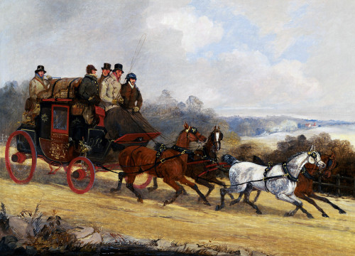 The Dover To London Coach: In Summer by Henry Alken