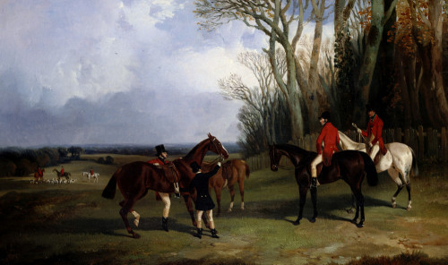 The Middleton-Mounting At Covertside by John Dalby