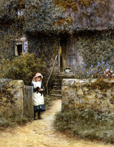 The Garden Gate by Helen Allingham