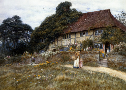 At Stedham near Midhurst by Helen Allingham